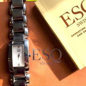 Women's ESQ Watch in original Box